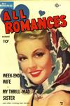 Cover for All Romances (Ace Magazines, 1949 series) #6