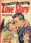 Cover for All Picture All True Love Story (St. John, 1952 series) #2