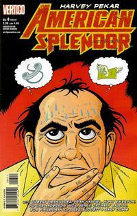 Cover Thumbnail for American Splendor (DC, 2006 series) #4