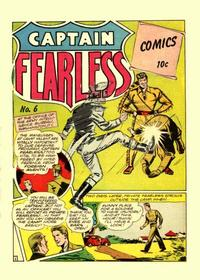 Cover Thumbnail for Captain Fearless Comics (Holyoke, 1944 series) #6