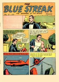 Cover Thumbnail for The Blue Streak Comics (Holyoke, 1944 series) #8