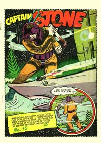 Cover for Captain Stone Comics (Holyoke, 1944 ? series) #10