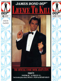 Cover Thumbnail for James Bond 007: Licence to Kill (Eclipse; Acme Press, 1989 series)
