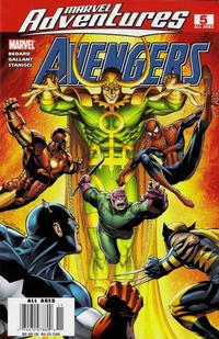 Cover Thumbnail for Marvel Adventures The Avengers (Marvel, 2006 series) #5 [Newsstand Edition]