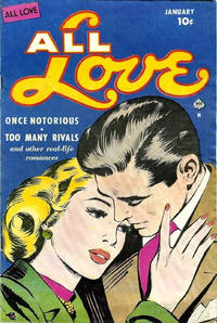 Cover Thumbnail for All Love (Ace Magazines, 1949 series) #30
