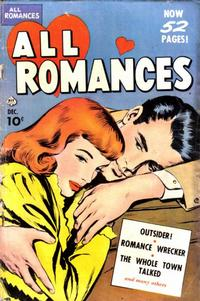 Cover Thumbnail for All Romances (Ace Magazines, 1949 series) #3