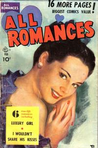 Cover Thumbnail for All Romances (Ace Magazines, 1949 series) #4