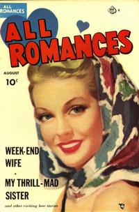 Cover Thumbnail for All Romances (Ace Magazines, 1949 series) #6