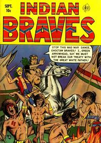 Cover Thumbnail for Indian Braves (Ace Magazines, 1951 series) #4