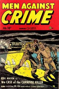 Cover Thumbnail for Men Against Crime (Ace Magazines, 1951 series) #3