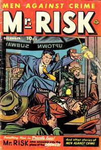 Cover Thumbnail for Mr. Risk (Ace Magazines, 1950 series) #2