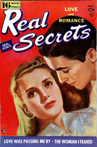 Cover Thumbnail for Real Secrets (Ace Magazines, 1949 series) #4