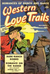 Cover Thumbnail for Western Love Trails (Ace Magazines, 1949 series) #7
