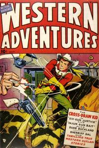 Cover Thumbnail for Western Adventures (Ace Magazines, 1948 series) #[1]