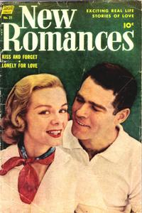 Cover Thumbnail for New Romances (Pines, 1951 series) #21