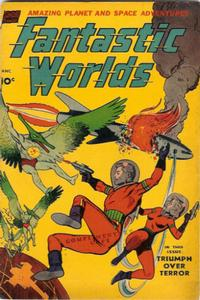 Cover Thumbnail for Fantastic Worlds (Pines, 1952 series) #5
