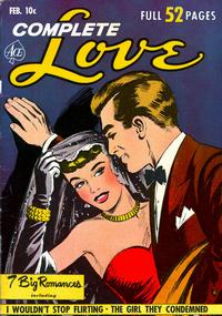 Cover Thumbnail for Complete Love Magazine (Ace Magazines, 1951 series) #v26#6 [162]