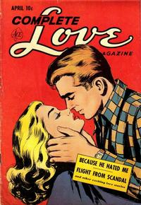 Cover Thumbnail for Complete Love Magazine (Ace Magazines, 1951 series) #v27#1 [163]