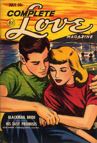 Cover Thumbnail for Complete Love Magazine (Ace Magazines, 1951 series) #v27#3 [165]