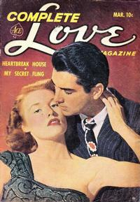 Cover Thumbnail for Complete Love Magazine (Ace Magazines, 1951 series) #v28#1 [169]