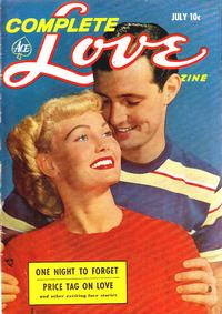 Cover Thumbnail for Complete Love Magazine (Ace Magazines, 1951 series) #v29#3 [171]