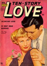 Cover Thumbnail for Ten-Story Love (Ace Magazines, 1951 series) #v30#5 [185]
