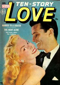 Cover Thumbnail for Ten-Story Love (Ace Magazines, 1951 series) #v30#6 [186]