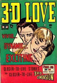 Cover Thumbnail for 3-D Love (Mikeross Publications, 1953 series) #1