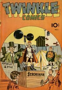 Cover Thumbnail for Twinkle Comics (Spotlight Publishers [1940s], 1945 series) #1