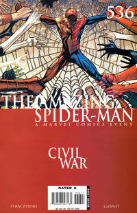 Cover Thumbnail for The Amazing Spider-Man (Marvel, 1999 series) #536 [Direct Edition]