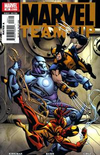 Cover Thumbnail for Marvel Team-Up (Marvel, 2005 series) #23