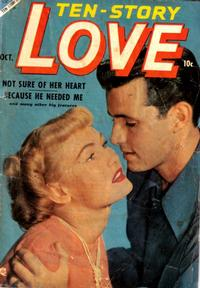 Cover Thumbnail for Ten-Story Love (Ace Magazines, 1951 series) #v32#5 [191]
