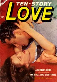 Cover Thumbnail for Ten-Story Love (Ace Magazines, 1951 series) #v32#6 [192]