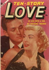 Cover Thumbnail for Ten-Story Love (Ace Magazines, 1951 series) #v33#1 [193]