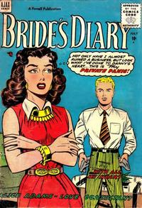 Cover Thumbnail for Bride's Diary (Farrell, 1955 series) #5