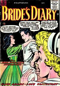 Cover Thumbnail for Bride's Diary (Farrell, 1955 series) #6