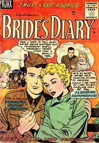 Cover Thumbnail for Bride's Diary (Farrell, 1955 series) #7