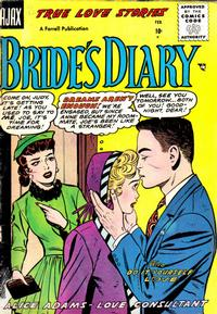 Cover Thumbnail for Bride's Diary (Farrell, 1955 series) #8