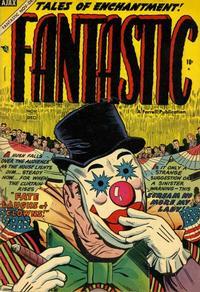 Cover Thumbnail for Fantastic Comics (Farrell, 1954 series) #10