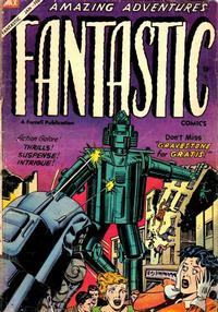 Cover Thumbnail for Fantastic Comics (Farrell, 1954 series) #11