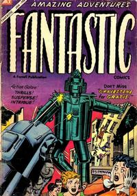 Cover Thumbnail for Fantastic Comics (Farrell, 1954 series) #11