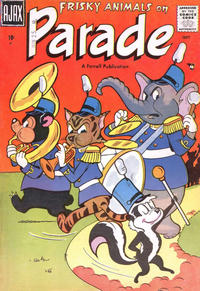 Cover for Frisky Animals on Parade (Farrell, 1957 series) #1