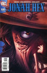 Cover for Jonah Hex (DC, 2006 series) #12