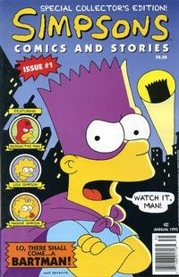 Cover Thumbnail for Simpsons Comics and Stories (Welsh Publishing Group, 1993 series) #1