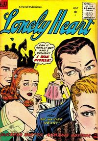 Cover Thumbnail for Lonely Heart (Farrell, 1955 series) #11