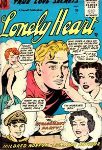 Cover Thumbnail for Lonely Heart (Farrell, 1955 series) #13