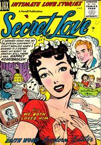 Cover Thumbnail for Secret Love (Farrell, 1955 series) #2