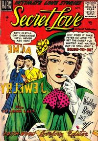 Cover Thumbnail for Secret Love (Farrell, 1957 series) #3