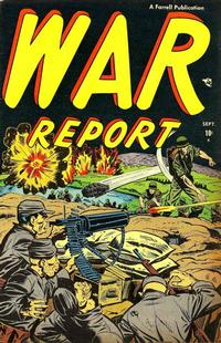 Cover Thumbnail for War Report (Farrell, 1952 series) #1