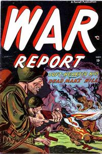 Cover Thumbnail for War Report (Farrell, 1952 series) #2